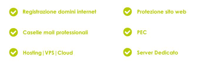 soluzioni web hosting